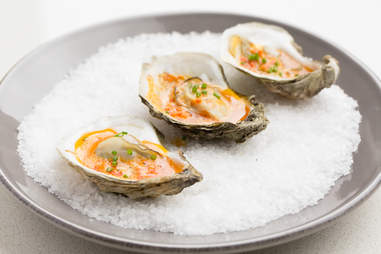 B&G Oysters' Grilled Oysters with Roasted Red Pepper Butter — Thrillist Recipes