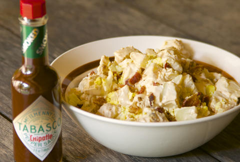 Bacon and Chipotle Potato Salad