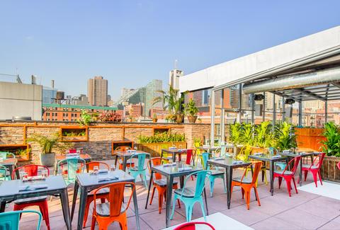Cantina Rooftop A New York Ny Bar