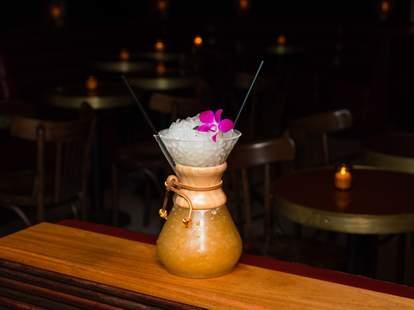 Slowly Shirley bar in New York City