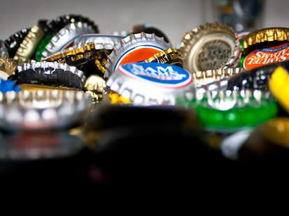 sam adams bottle caps