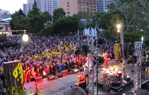 Every Free Outdoor Concert in SF This Summer