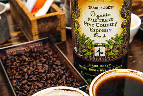 Trader Joes Coffee Five Country Espresso