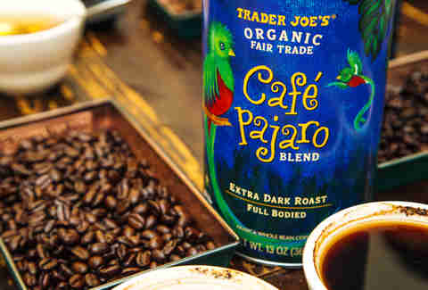 Trader Joe's Cafe Pajaro coffee