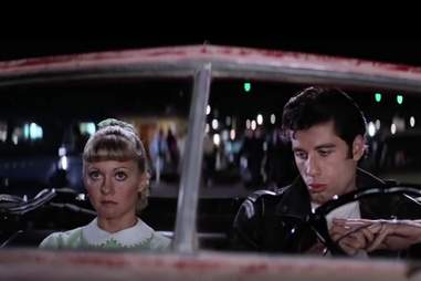 Danny and Sandy drive-in Grease