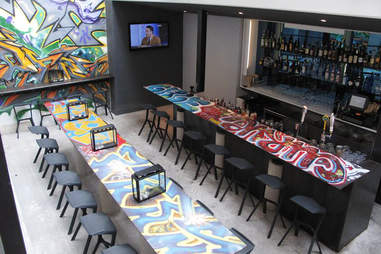 Graffiti Bar Sampan Philadelphia