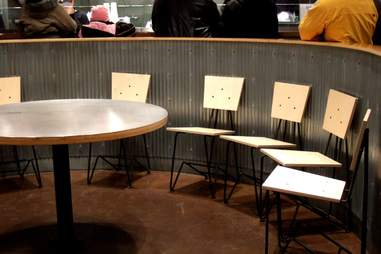 Chipotle chairs