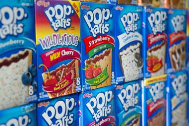 Boxes of Pop-Tarts