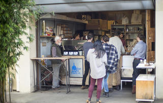 Blue Bottle Kiosk