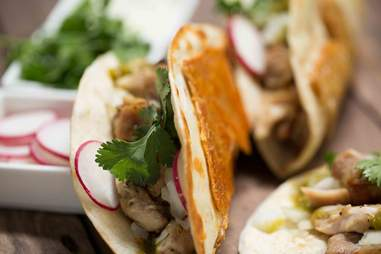 Chicken Skin Tacos — Thrillist Recipes