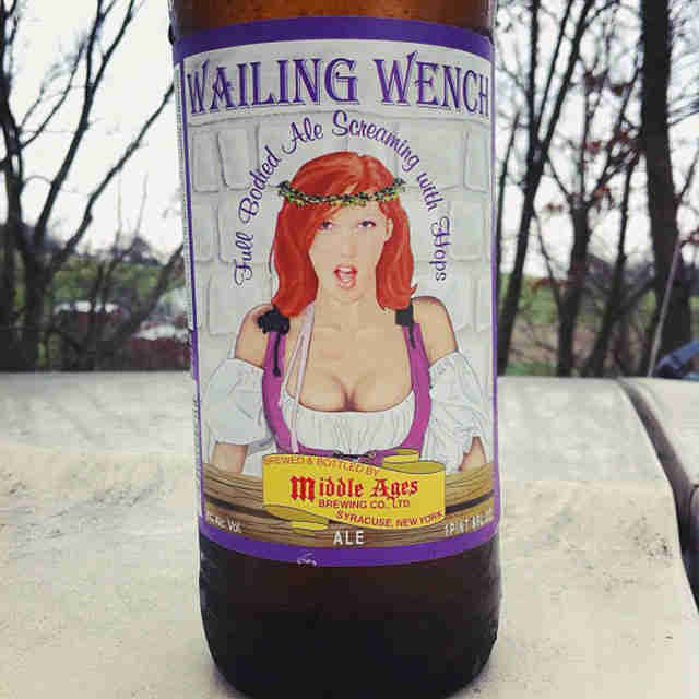 wailing wench beer