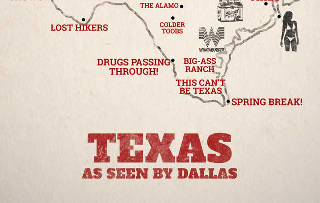 How Dallas Sees the Rest of Texas