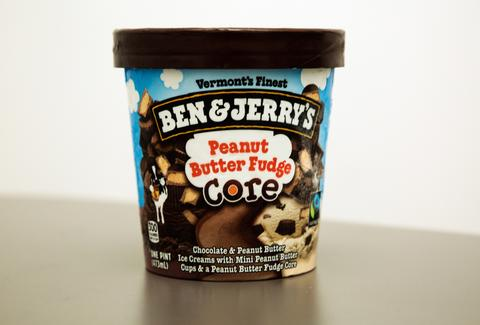 Ben & Jerry's Peanut Butter Fudge Core