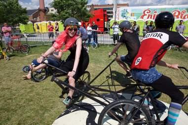 Mad bike carousel