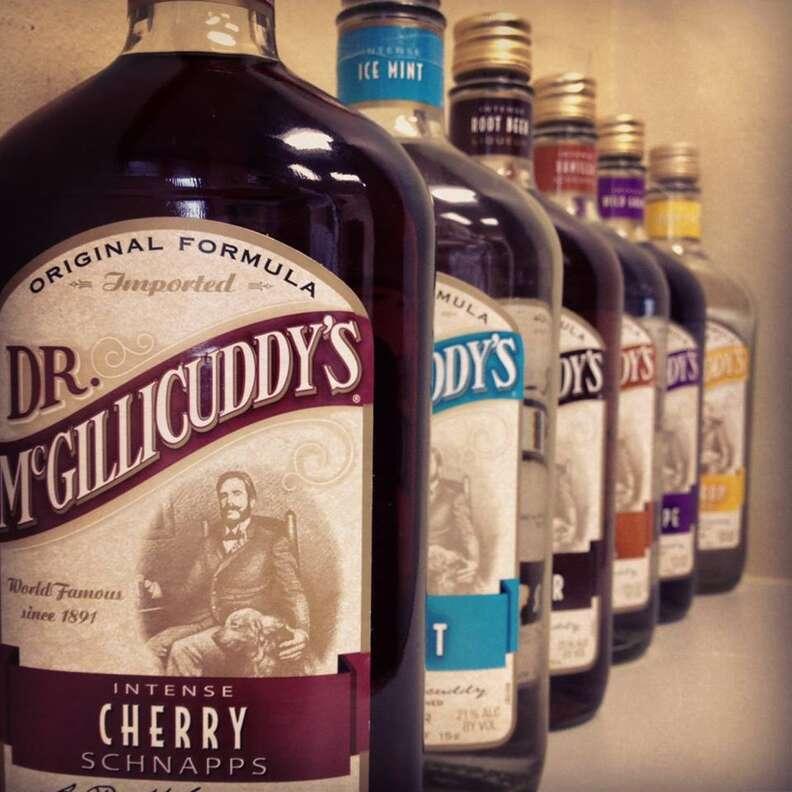 Dr. McGillicuddy's bottles
