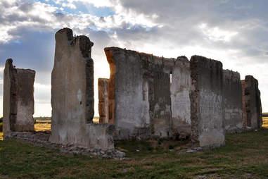 Ruins in Wyoming