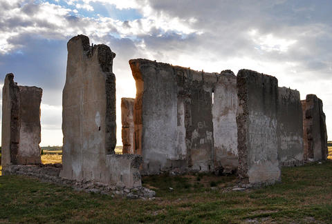 Ruins in Wyoming