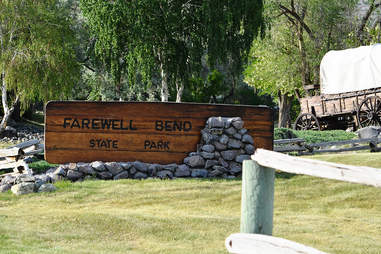 State Park sign