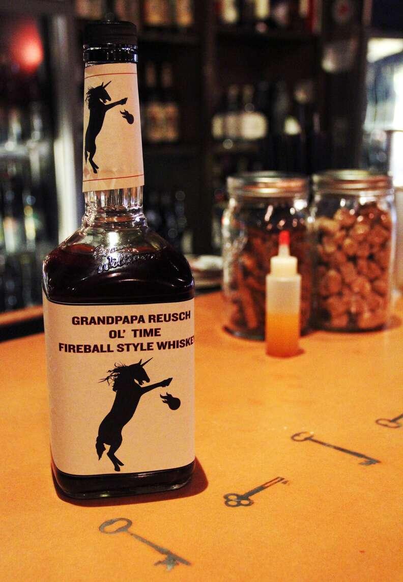 ChurchKey Grandpapa Reusch Ol' Time Fireball Style Whiskey