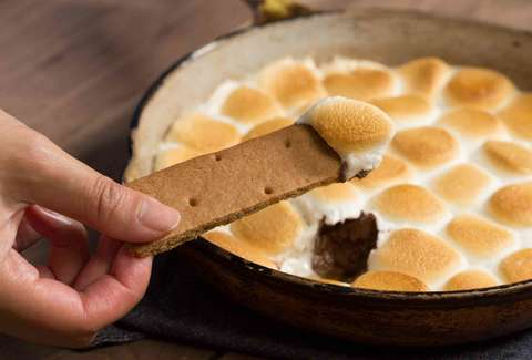 Skillet S'mores — Thrillist Recipes