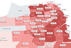 This Map Shows San Francisco's Ever-Skyrocketing Rents