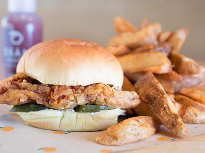 Fuku East Village chicken sandwich