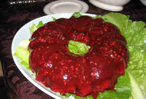 Cranberry Jell-O salad