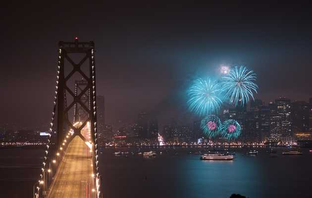 Where to Watch Fireworks in SF This 4th of July