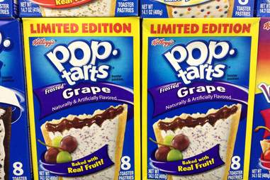 Grape Pop-Tarts