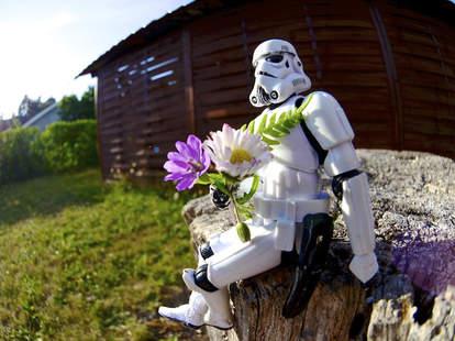 Romantic stormtrooper