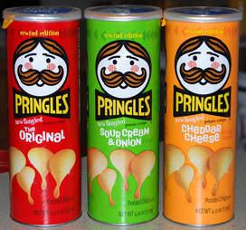 Pringles rewind cans