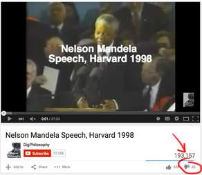 Nelson Mandela speech
