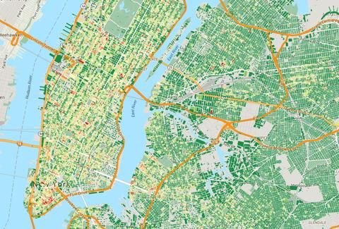 311 Complaint Map Noise Complaints in NYC: Place I Live Compiles Interactive Map