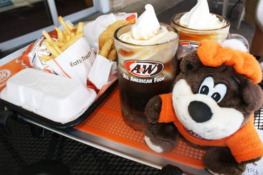 A&W meal