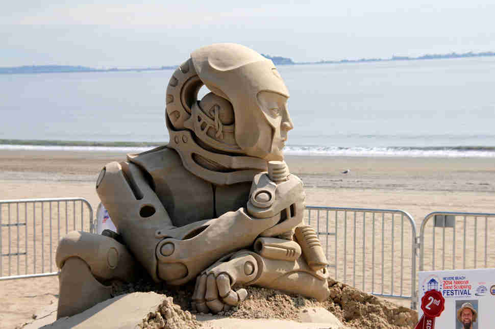Sand Sculpture Contest
