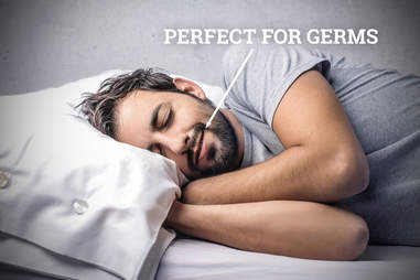 Sleeping with germs