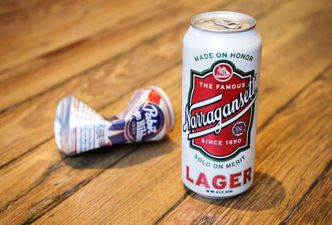 1f91cebe LAURA MURRAY/THRILLIST. Pabst Blue Ribbon. The beer that made it cool to  drink ...