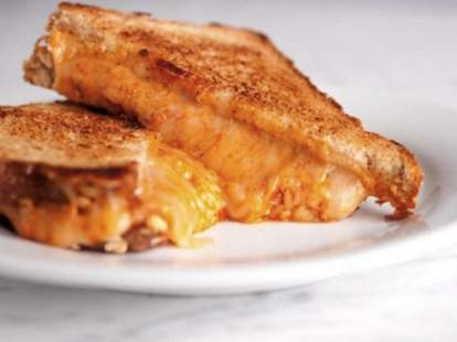 A grilled cheese from Little Muenster