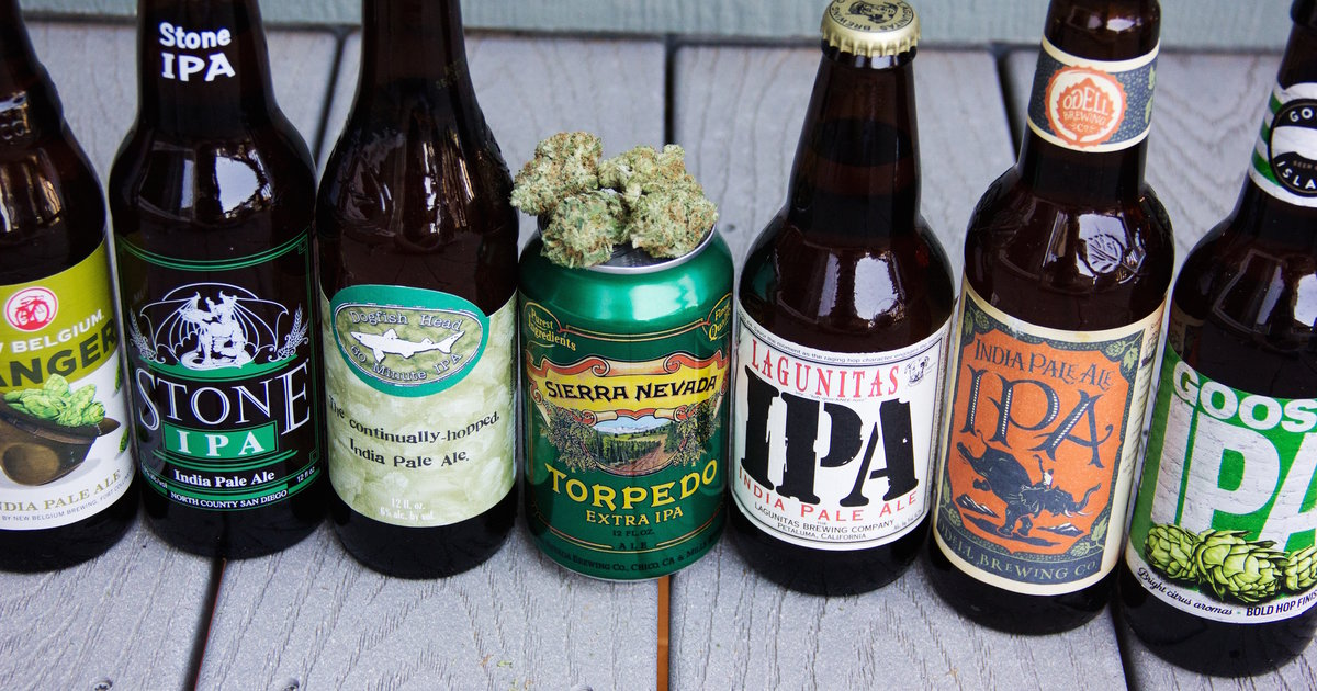 The Best Weed Strains to Pair With 7 Top IPAs