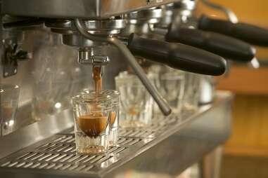 Espresso at the Alaska Roasting Company