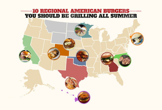 10 Regional American Burgers You Should Be Grilling All Summer