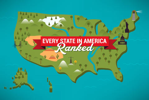 2edd92f9be Ranking All 50 USA States From Best to Worst - Best State In America ...