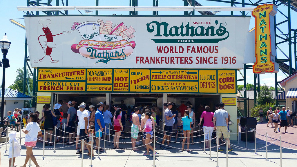 Famous Hot Dog Place In Nyc