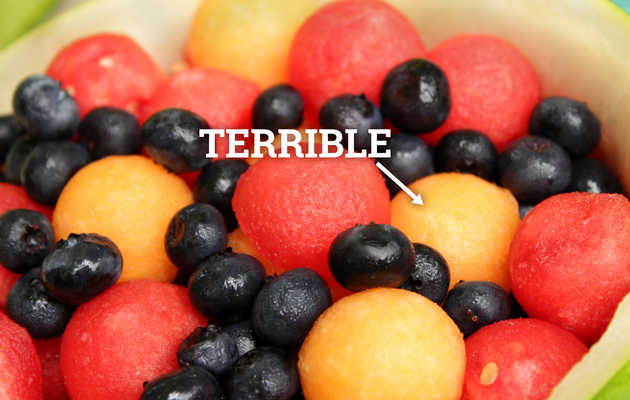 The Fruits in a Typical Fruit Salad, Ranked