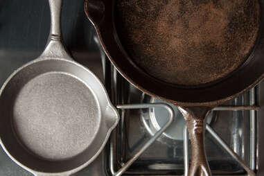 How to season a cast iron skillet — Thrillist Recipes