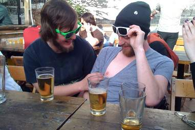 Two Dudes + Beer