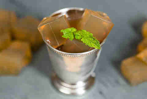 Mint Julep Jell-O Shots — Thrillist Recipes