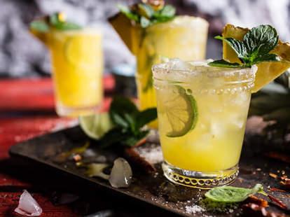 Pineapple Lime Chelada