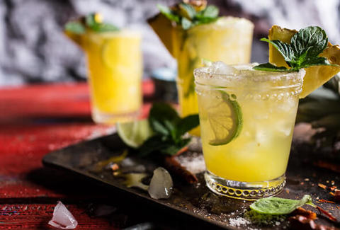 Pineapple Lime Chelada
