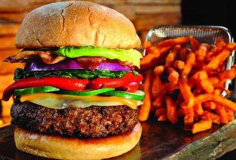 burger bar a las vegas nv bar. Black Bedroom Furniture Sets. Home Design Ideas
